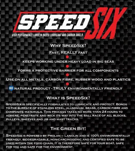 SpeedSix Dry Lubricant